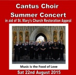 Cantus Choir poster cropped